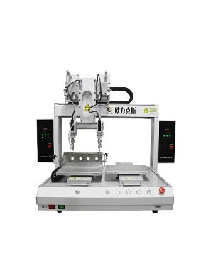 桌面式四轴双头自动焊锡机器人