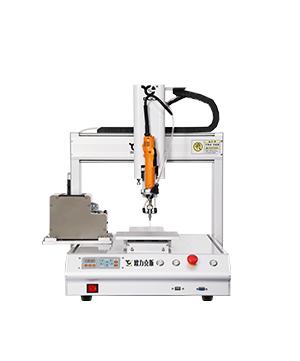 桌面型xi气shi三轴自动suo螺丝机