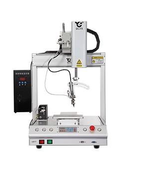 桌面shisan轴高频全自动焊锡机机器人
